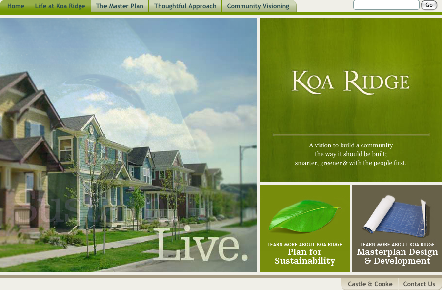 Koa Ridge: Oahu's Next Great Place to Live!