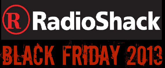 2013 Radio Shack Black Friday Deals