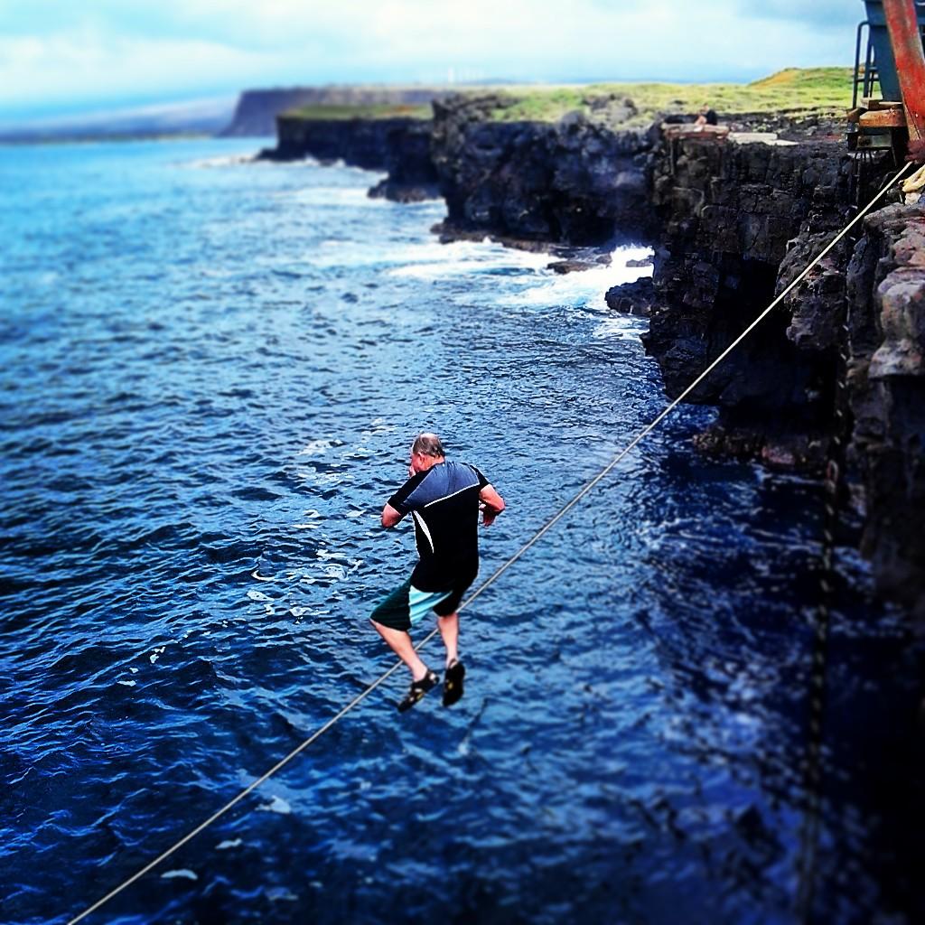 Ka Lae Cliff Diver