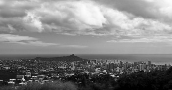 Honolulu Black and White. Photo by CN2 on Flickr