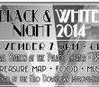 Black and White Night in Hilo