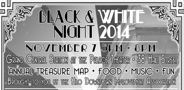 14th Annual Black and White Night in Hilo