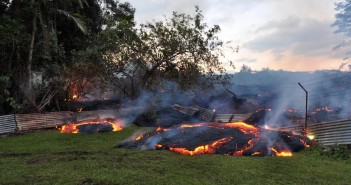 Pahoa Lava Flow from Kilauea