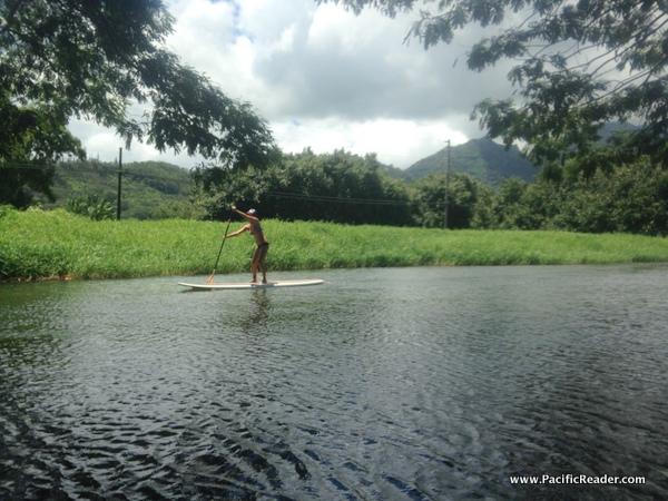 SUP Hanalei River