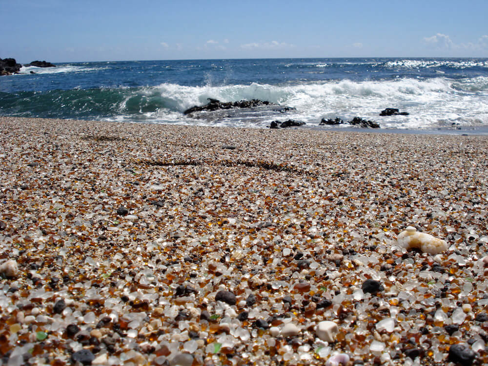 Glass Beach on Kauai