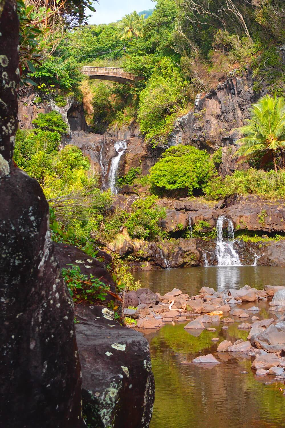 Seven Sacred Pools on Maui