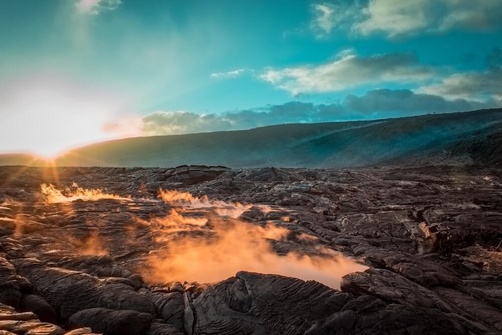 Extraordinary Volcanic Trails in Hawaii