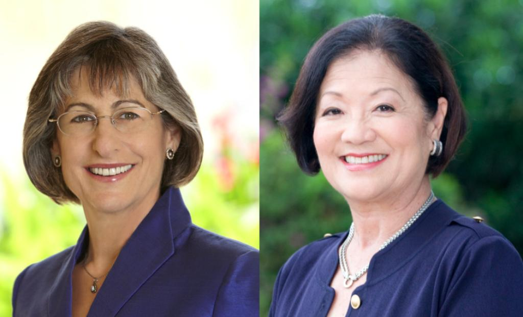 Linda Lingle and Mazie Hirono Square Off in First Televised Debate