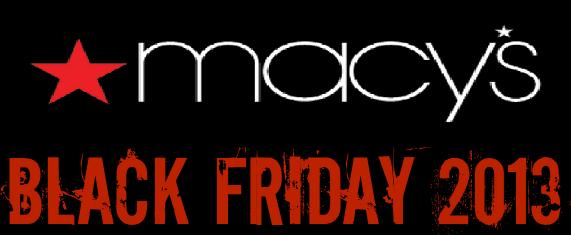 2013 Macy's Black Friday Deals