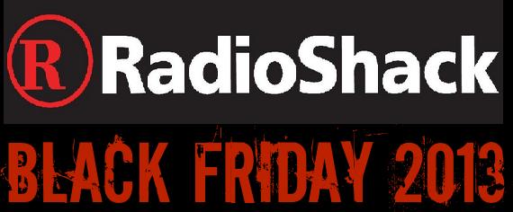 2013 Radio Shack Black Friday Deals
