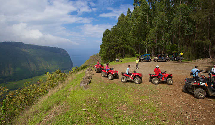 Exploring Big Island on Wheels with ATV Tour