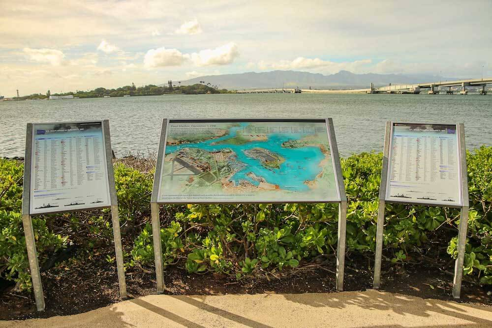 pearl harbor visitor's center